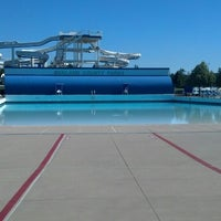 Photo taken at Red Oaks Waterpark by Evan B. on 7/17/2014