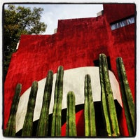 Photo taken at Museo Casa Estudio Diego Rivera y Frida Kahlo by Alexis T. on 3/17/2013