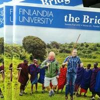 Photo taken at Finlandia University by Donna on 10/15/2012