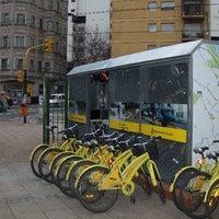 Photo taken at Estación Virrey Cevallos [Ecobici] by Buenos Aires Ciudad on 9/23/2013