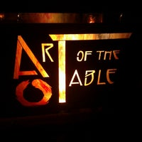 Photo taken at Art of the Table by Rand F. on 2/17/2013