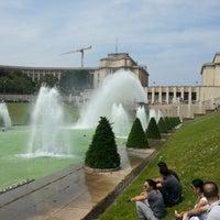 Photo prise au Jardins du Trocadéro par Rand F. le6/8/2013