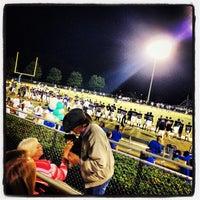 Photo taken at South Forsyth High School Football Stadium by Lauren F. on 10/19/2013