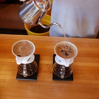 Photo taken at Rising Star Coffee Roasters by Rising Star Coffee Roasters Star Bars on 10/13/2014