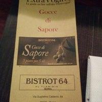 Foto scattata a Bistrot 64 da Edoardo I. il 1/26/2015