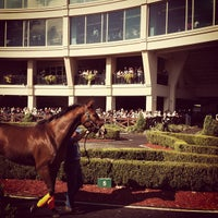 Photo taken at Fair Grounds Race Course & Slots by Melissa S. on 11/22/2012