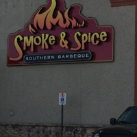 Photo taken at Smoke N Spice by Dan M. on 12/5/2012
