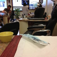 Photo taken at Color Nails by Leslie W. on 9/30/2012