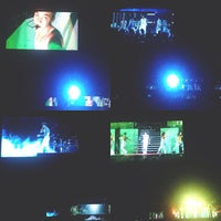 Photo taken at Sevens Stadium #BelieveWorldTour by Dyah H. on 5/4/2013