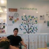 Photo Taken At Nailandia Nail Studio And Body Spa By Alsbeth B On 5