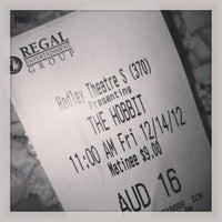 Photo taken at Regal Cinemas Hadley Theatre 16 by Grace H. on 12/14/2012