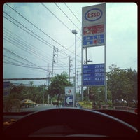 Photo taken at Esso Gas Station, Rama IX by Ananpol S. on 12/5/2012
