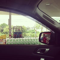 Photo taken at Esso Gas Station, Rama IX by Ananpol S. on 9/26/2012