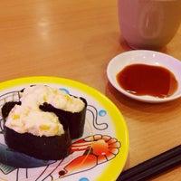 Photo taken at かっぱ寿司 郡山駅東SC店 by すみぽっぽ on 7/6/2015
