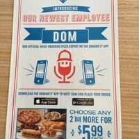 Photo taken at Domino's Pizza by Thilina R. on 6/26/2015