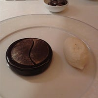 Photo taken at Alain Ducasse at The Dorchester by Leigh B. on 5/22/2013