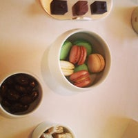 Photo taken at Alain Ducasse at The Dorchester by Sarah O. on 1/15/2013