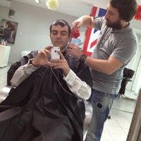 Photo taken at Scissors Hair Studio by Georgy G. on 11/17/2012