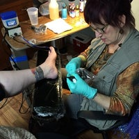 Photo taken at Primeval Ink Tattoo by Primeval Ink Tattoo on 11/26/2014