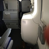 Photo taken at Lufthansa Flight LH 419 by Grant A. on 8/29/2013