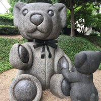 Photo taken at Teddy Bears Sculptures by Grant A. on 4/9/2017