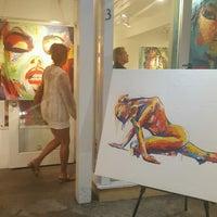 Photo taken at Hugo Rivera Gallery by Rebecca F. on 9/2/2016