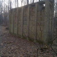 Photo taken at Phoenixville Silt Wall Ruin by Manny R. on 5/3/2013