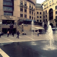 Photo taken at Nelson Mandela Square by Thabo d. on 10/25/2012