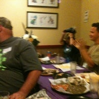 Photo taken at Round Table Pizza by Kevin H. on 9/16/2012
