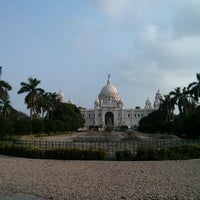 Photo taken at Victoria Memorial by Deep K. on 5/18/2013
