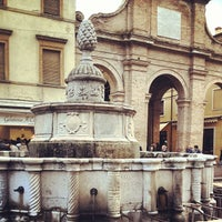 Photo taken at Fontana della Pigna by Patrizia fashion4travel B. on 3/30/2013