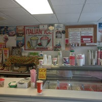 Photo taken at Gina's Italian Ice by Ron G. on 7/10/2013