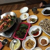 Photo taken at 기장곰장어 by Kyoung lim K. on 3/11/2015
