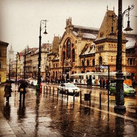 Photo taken at Fővám tér by Murat Eray K. on 3/14/2013