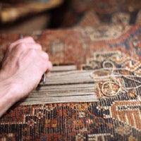 Photo taken at Κατσιάνης Handmade Carpets by Tasos K. on 10/21/2015