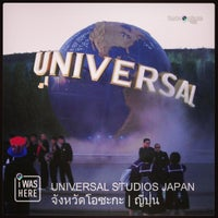 Photo taken at Universal Studios Japan by Supoj W. on 4/17/2013