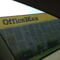 Photo taken at Office Max by Yuriko M. on 7/16/2013