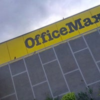 Photo taken at Office Max by Daniel Eduardo D. on 3/14/2013