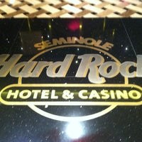 Photo taken at Seminole Hard Rock Hotel & Casino by Travis M. on 1/9/2013