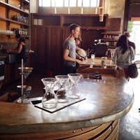 Photo taken at Coava Coffee Roasters Cafe by David B. on 8/30/2013