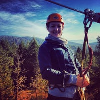 Photo taken at Adrena LINE Zip Line Adventure Tours by David B. on 10/10/2013