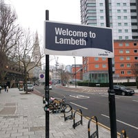 Photo taken at Lambeth by Petr H. on 2/12/2017