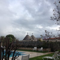 Photo taken at Abate Masseria & Resort Noci by Alex on 4/18/2014