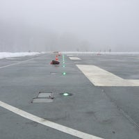 "Photo taken at Heliport ""Dnipro-1"" by Anton O. on 1/16/2013"