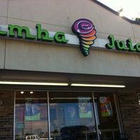 Photo taken at Jamba Juice Edmond by Sandi on 10/14/2012
