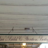 Photo taken at Alma's Bridal & Alterations by Robin B. on 5/17/2014