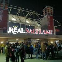 Photo taken at Rio Tinto Stadium by Jason C. on 11/9/2012