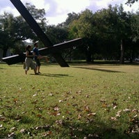 Photo taken at Menil Park by Dona S. on 11/10/2012
