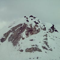 Photo taken at Whistler Mtn. Peak by Marcus A. on 3/30/2013