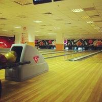 Photo taken at Cosmic Bowling by Mevlüt Ç. on 10/23/2012